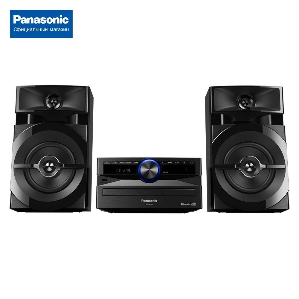 Минисистема Panasonic SC-UX100EE-K минисистема panasonic sc vkx25ee k черный