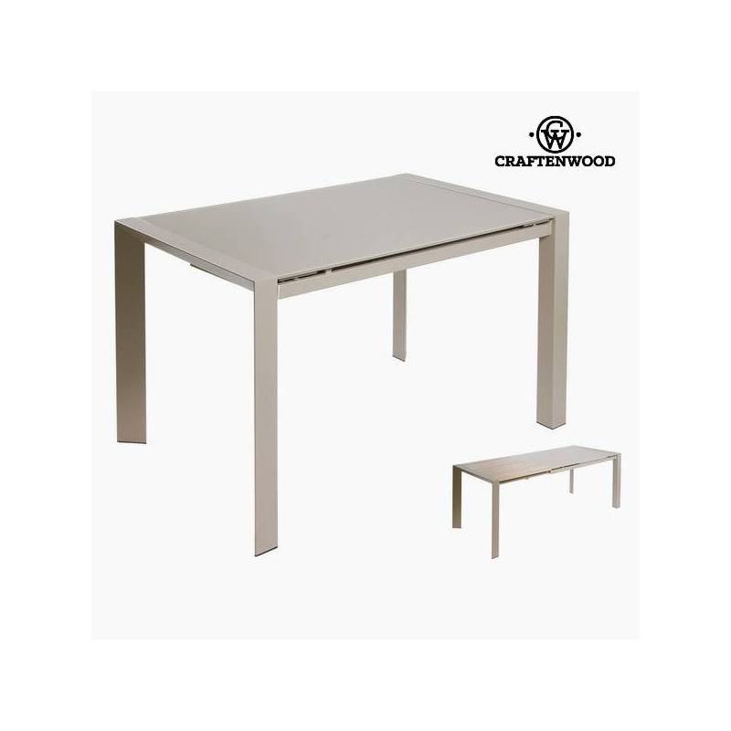 Extendable Table Gray By Craftenwood