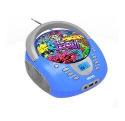 PortableBluetooth Radio Daewoo DBU-10 Graffiti FM Blue