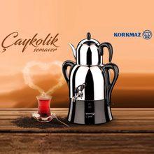 Elektrikli çaydanlık sıcak türk TeaUrn makinesi su ısıtıcısı semaver makinesi ücretsiz kargo Korkmaz paslanmaz çelik ev mutfak dekorasyon