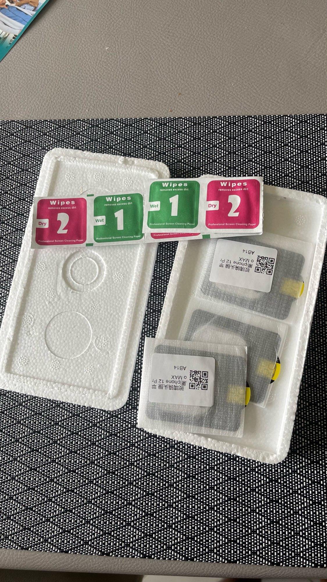 Protecteur d'objectif de caméra à couverture complète, 3 pièces, en verre trempé pour iPhone