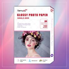 A4 Single-side Photo-Paper Glossy Inkjet Printing For Inkjet Printer Photographer imaging printing paper 100 sheets
