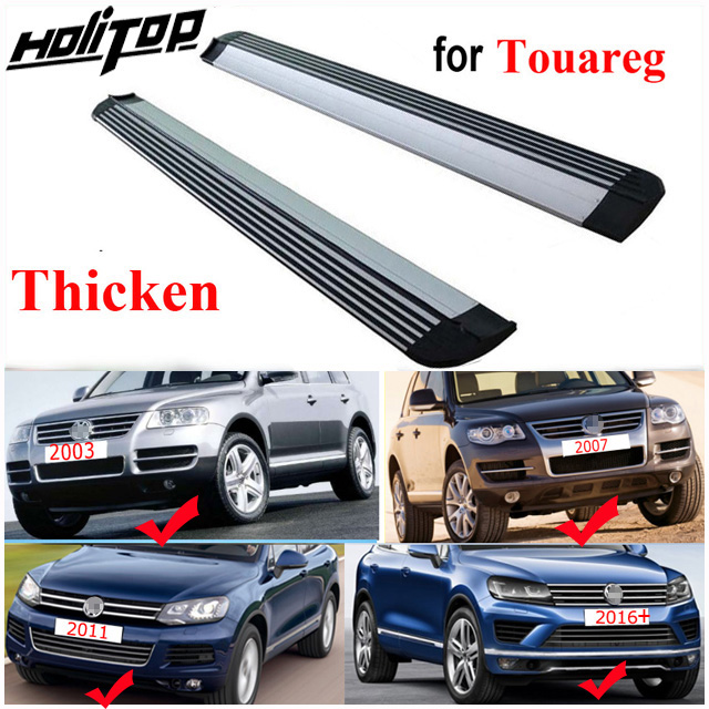 For VW Volkswagen Touareg 2011-2016 2017 2018 Roof Rack Aluminum Rail Cross Bar