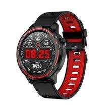 Accalia L8 Sport Smart Watch man Full Screen Touch ECG Heart rate Blood pressure monitor IP68 waterproof Fitness Tracker