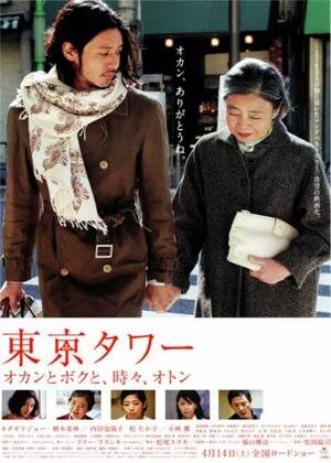 东京塔的海报
