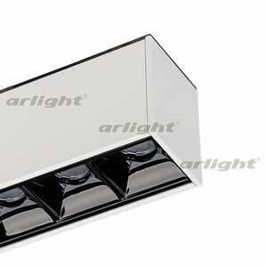 026939 lámpara MAG-LASER-45-L320-12W Warm3000 (WH 15 grados 24 V) ARLIGHT 1-pc