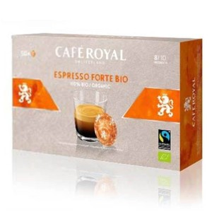 Espresso Forte Bio Cafe Royal®For NESPRESSO®PRO®50 capsules