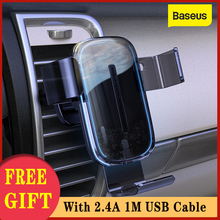 Baseus Gravity Car Phone Holder 15W Wireless Charger