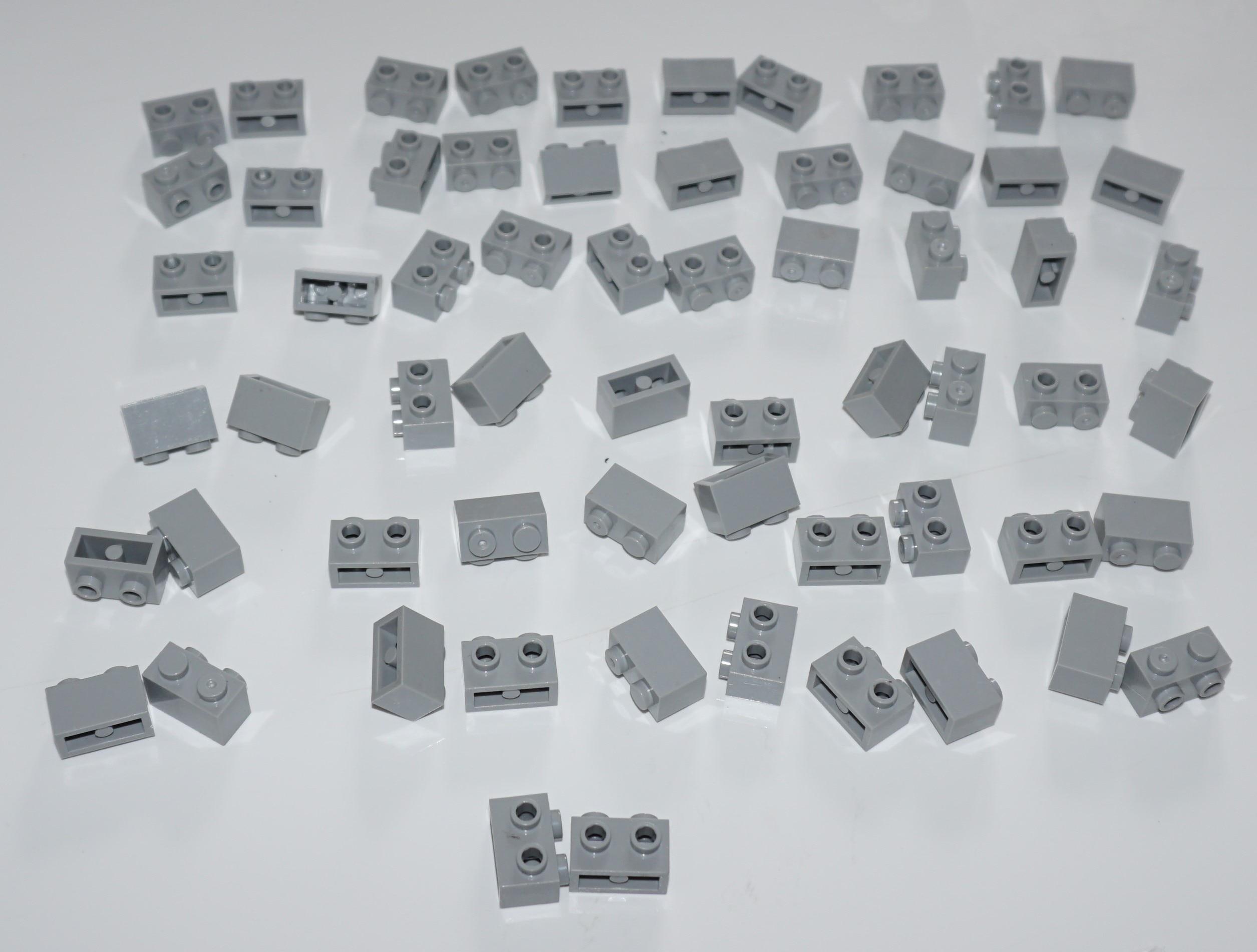 30-60-110pcs MOC Compatible Assembles Particles 11211 1x1 1x2 1x4 For Building Blocks DIY LOGO Educational High-Tech Spare Toys photo review