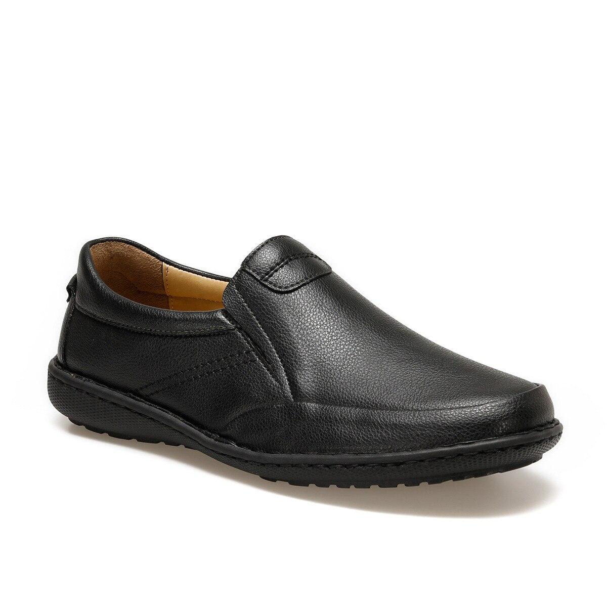 FLO AL-7 Black Men 'S Classic Shoes Flexall