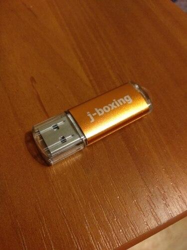 J-boxing USB Flash Drive 64GB 32GB Pendrive usb2.0 Memory Stick Jump Drive cle usb Storage Flash Drive for Computer 4GB 8GB 16GB reviews №2 57634