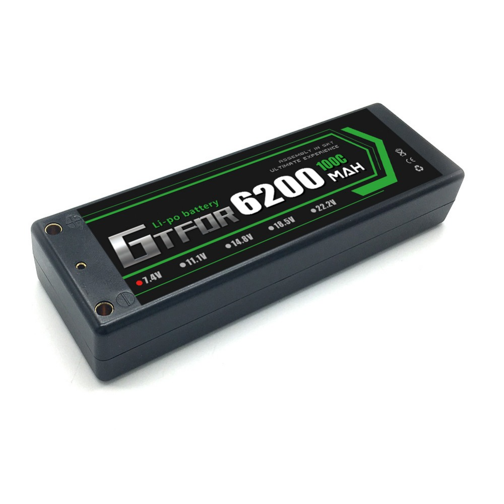 baterias pacote com 4mm bala para 1 8 1 10 rc carro modelo trax