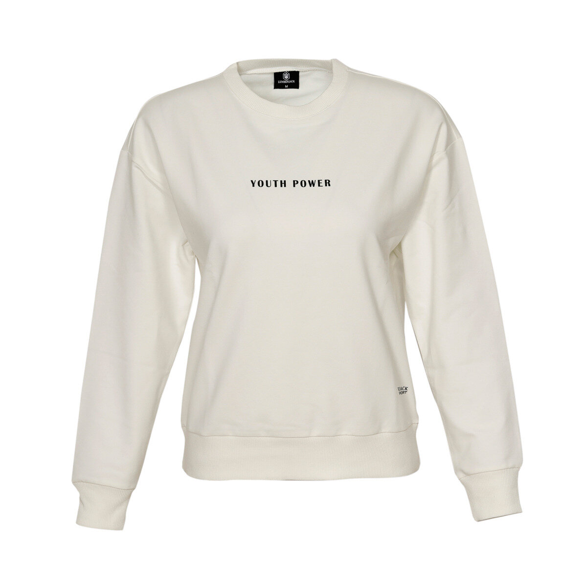 FLO W-1541 CASH SWEATSHIRT Ecru Women Sweatshirts LUMBERJACK