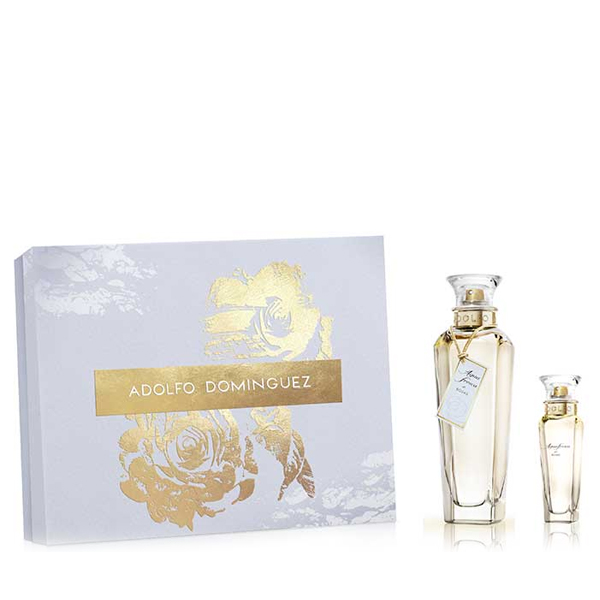 Women's Perfume Set Agua Fresca De Rosas Adolfo Dominguez (2 Pcs)