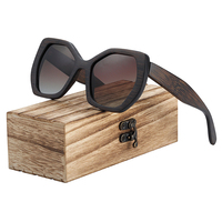 Design Femme - Bois intégral foncé - Marron - Coffret en bois