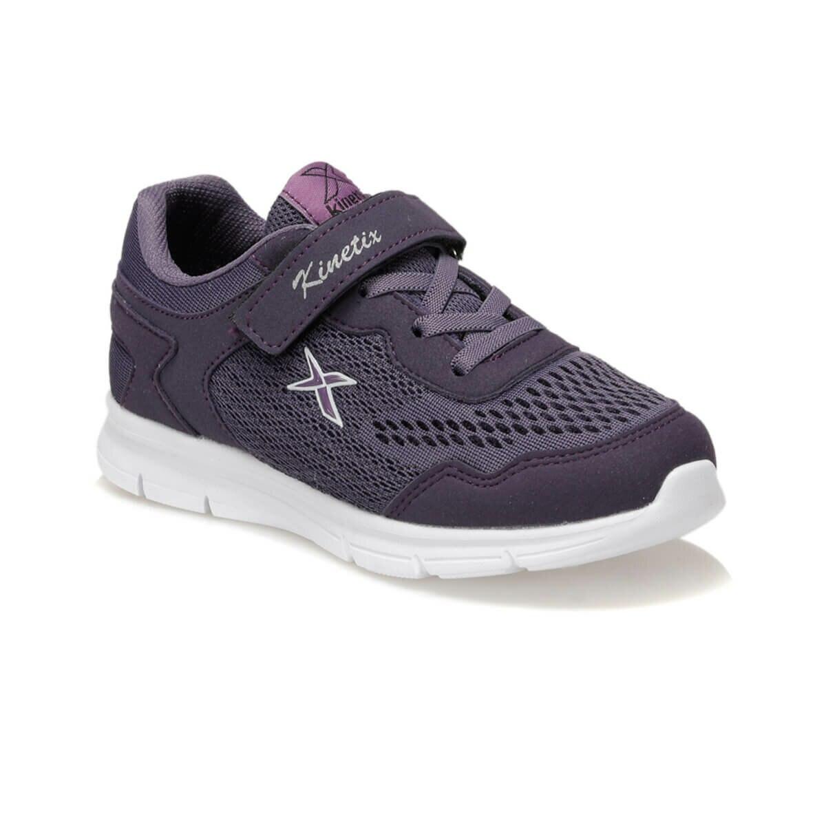 FLO ZUZEN Purple Female Child Walking Shoes KINETIX
