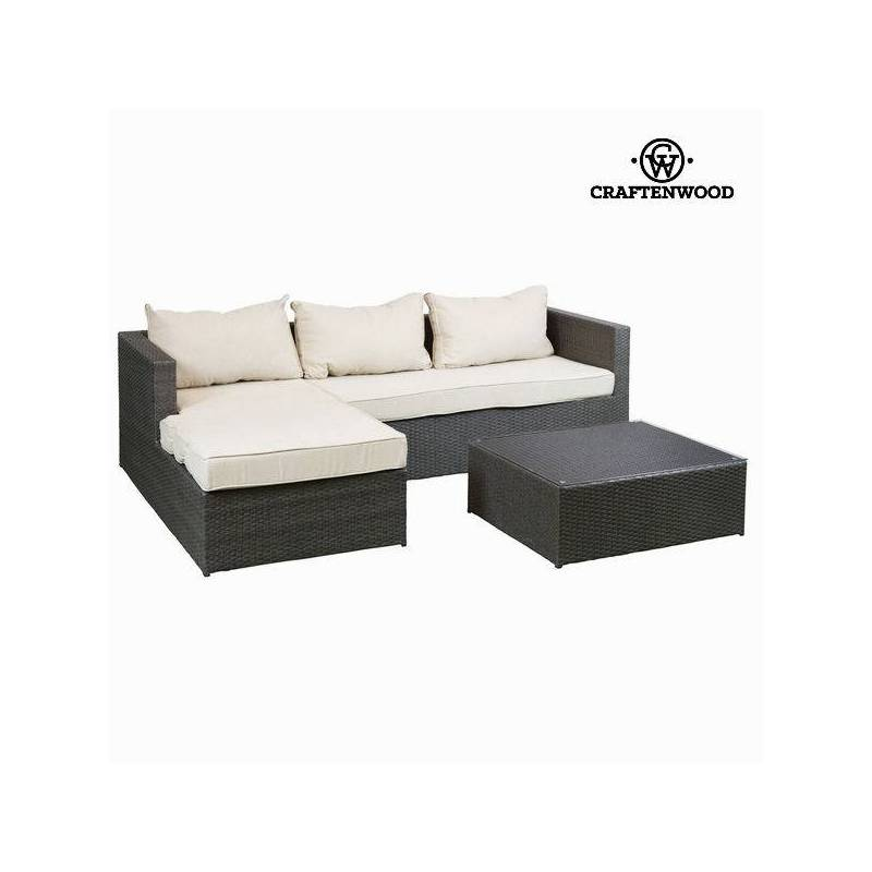 Sofa Set And Table By Craftenwood