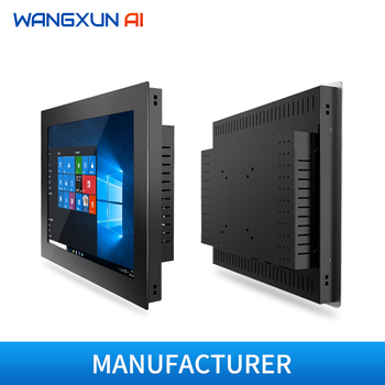 10/12/15/17/19''industrial all in one pc with resistive touch  screen embedded touch panel  tablet pc for Android/Windows 1