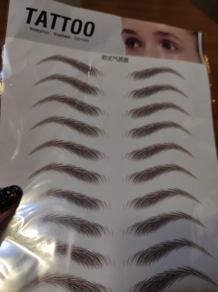 Reusable 8 in1 Eyebrow Shaping Kit photo review