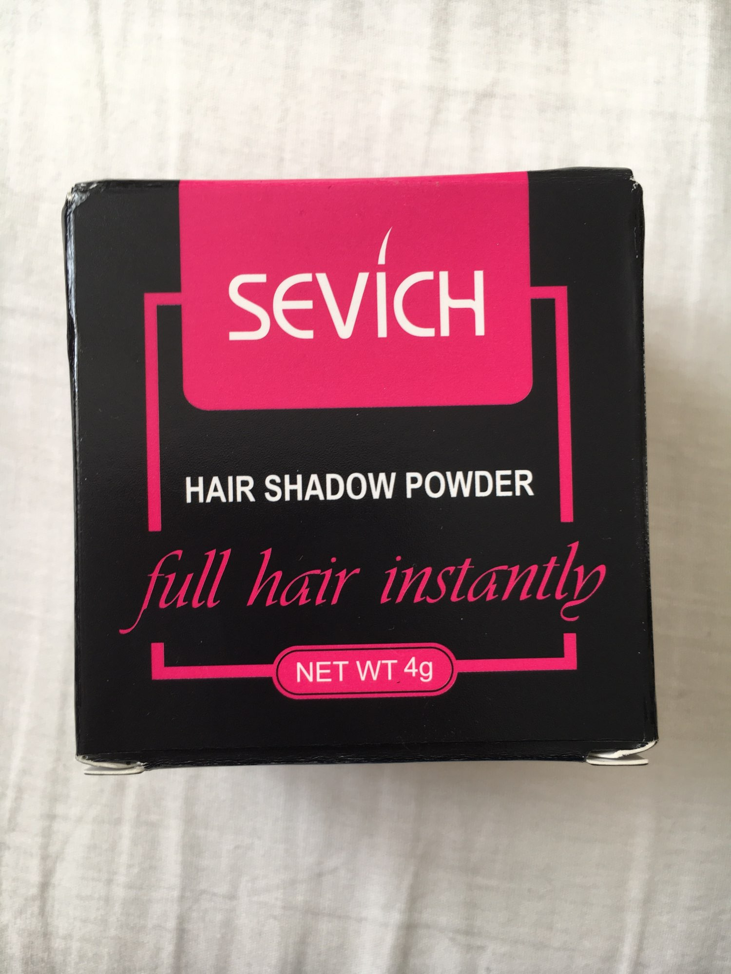 Sevich Hair Fluffy Powder for Instant Black Blonde Root Cover Up - Hair Concealer photo review