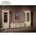 Fanbel móveis cellaret 1-porta tv armário conjunto sala de estar clássico