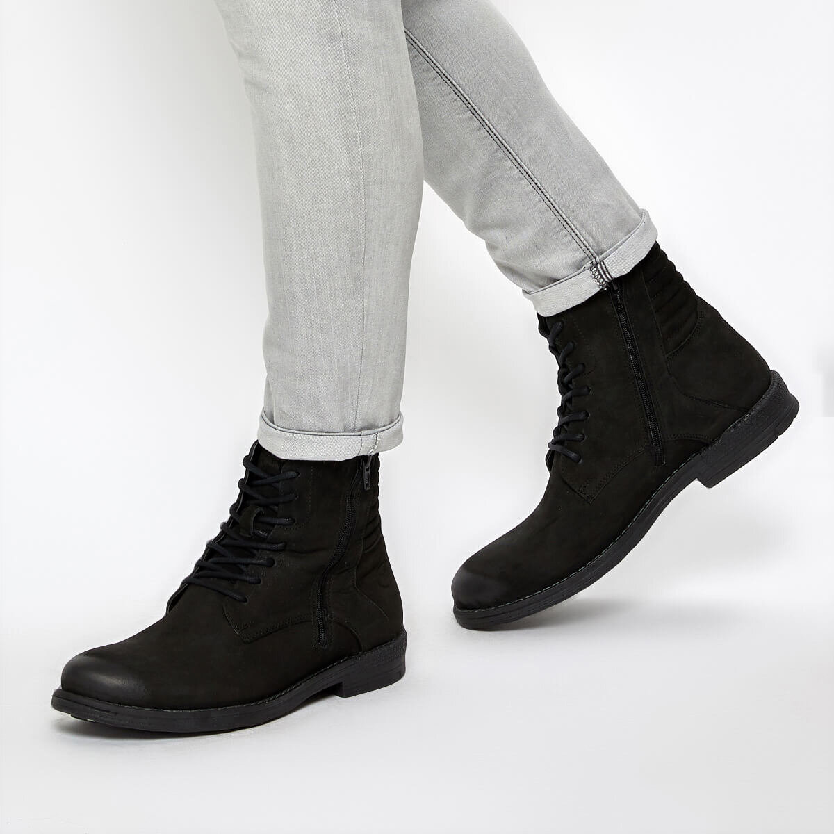 FLO 225270 9PR Black Men Boots By Dockers The Gerle