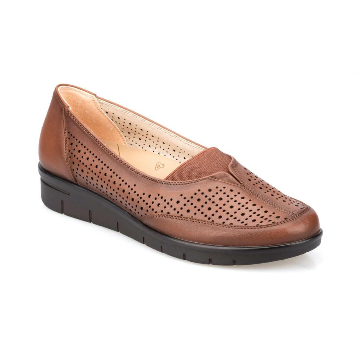 FLO 91. 100679.Z Tan Women 'S Shoes Polaris 5 Point