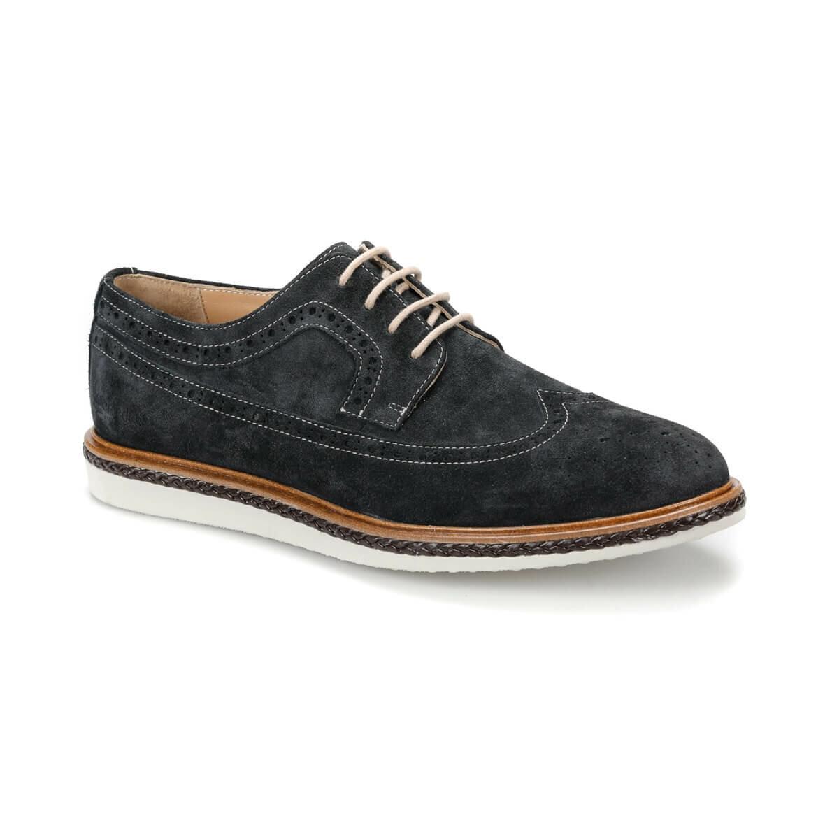 FLO DIBA Navy Blue Men 'S Classic Shoes MERCEDES