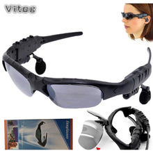 Bluetooth Sunglasses Outdoor Smart Glasses Earphone Sun Wireless Headset Sport with Microphone for Phones