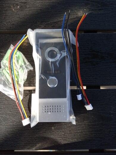 Albaabka Bannaanka ee Kusoo baxa 700L Habeenkii Dambe (Case Aluminum alloy) Loogu talagalay Video Intercom Doorbell System Door Phone Bell
