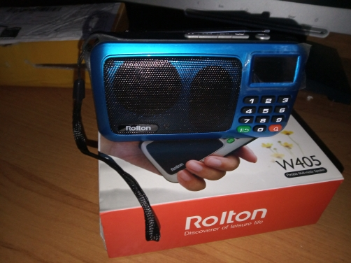 Rádio Player Lanterna Lâmpada