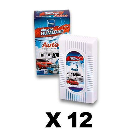 PACK 12 Units 6545-Absorbing Humidity Cars Caravans Airtight Anti-discharges