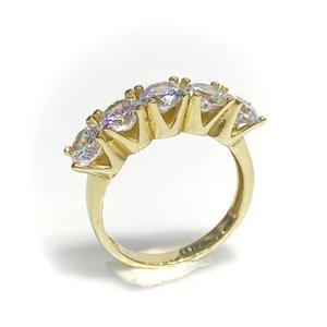 Классическое Золотое кольцо с четырьмя гвоздями 5 мм