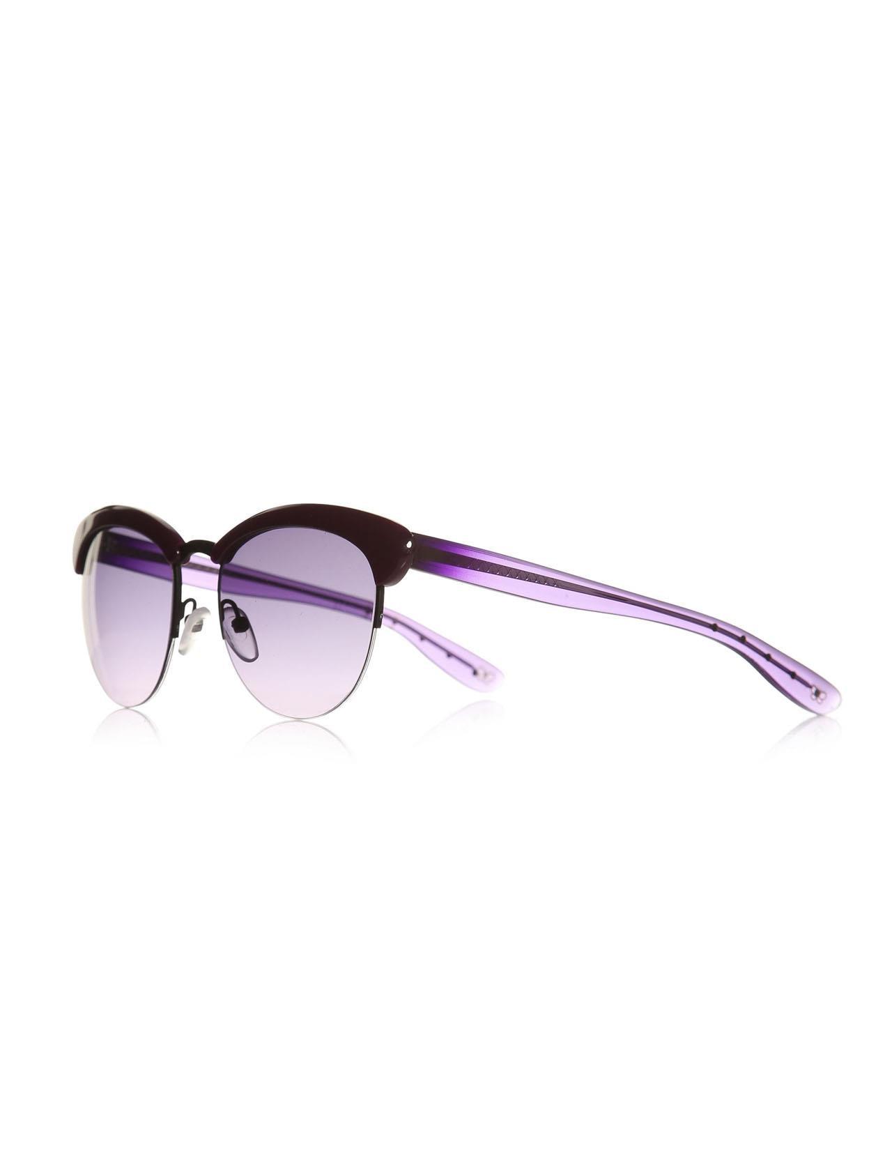 Women's sunglasses b.v 199/s k82 52 tb clubmaster purple organic round panto 52-18-140 bottega veneta