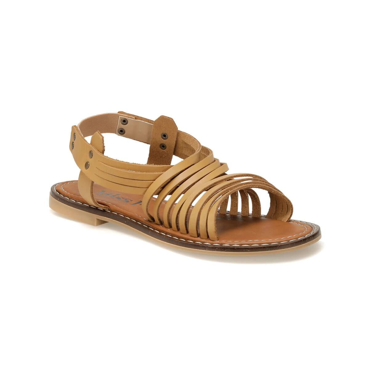 FLO DS18125-19S Tan Women 'S Sandals Miss F