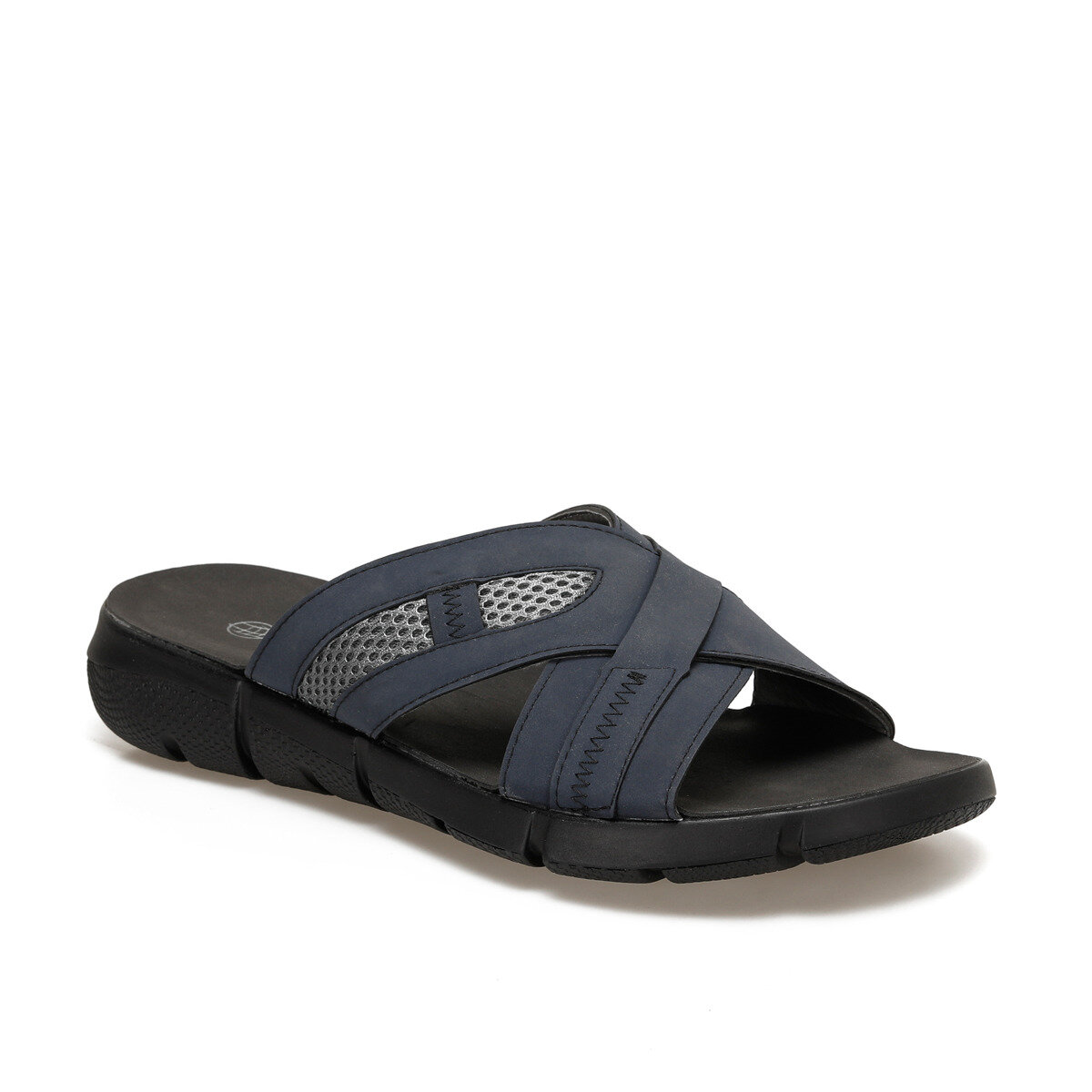 FLO ALS292 Navy Blue Male Slippers Panama Club