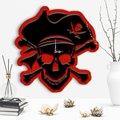 Декоративные Пиратский дизайн деревянные настенные часы-2
