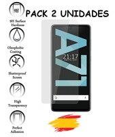 2X für SAMSUNG GALAXY A71 Gehärtetem glas glas Protector Stoßfest 9 h  2 Einheiten-in Handybildschirm-Schutz aus Handys & Telekommunikation bei