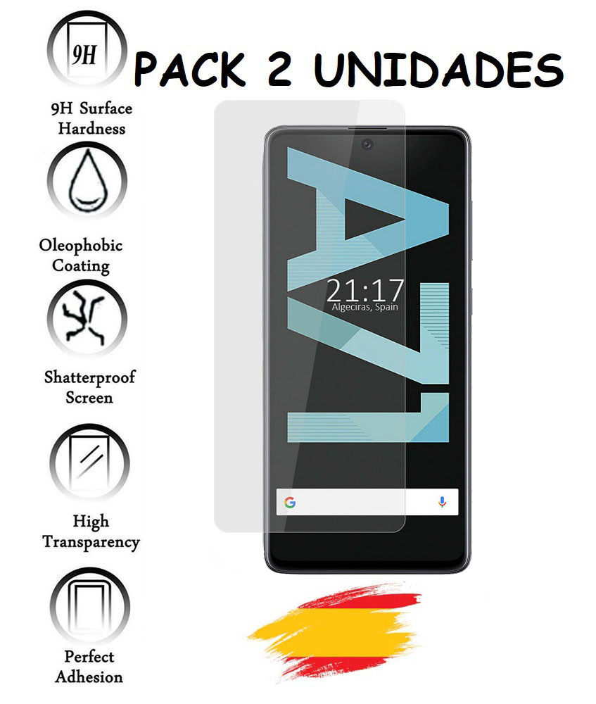 2X For SAMSUNG GALAXY A71 Tempered Glass Glass Protector Shockproof 9 H, 2 Units