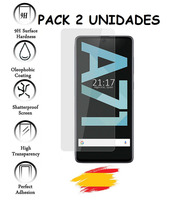 2X for SAMSUNG GALAXY A71 Tempered glass glass Protector Shockproof 9 h  2 Units|Phone Screen Protectors| |  -