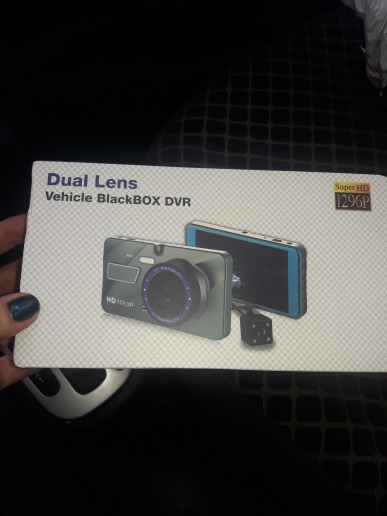 Dual Lens Full HD Dash Camera photo review