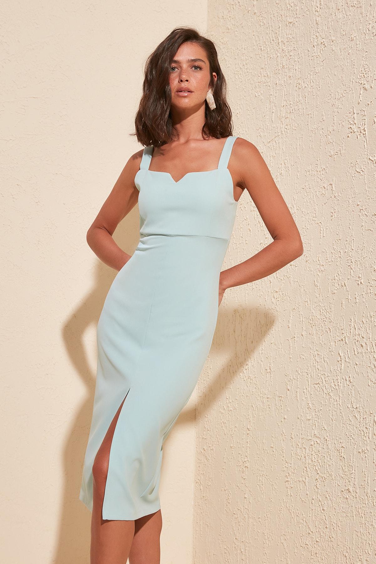Trendyol Slits Dress TWOSS19BB0216