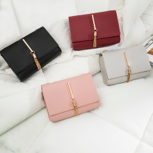 Messenger Crossbody Bag Female HandBag shoulder phone Sling Lady girl PU Leather Chain Tassel Purse fashion women bag for school naivety tassel pu leather handbag women shoulder bag rivet crossbody messenger phone purse 30s61212 drop shipping