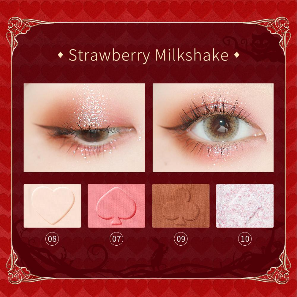 Closeout DealsZEESEA Eye-Shadow-Palette Alice Museum Wonderland-British 12-Colors New in Series