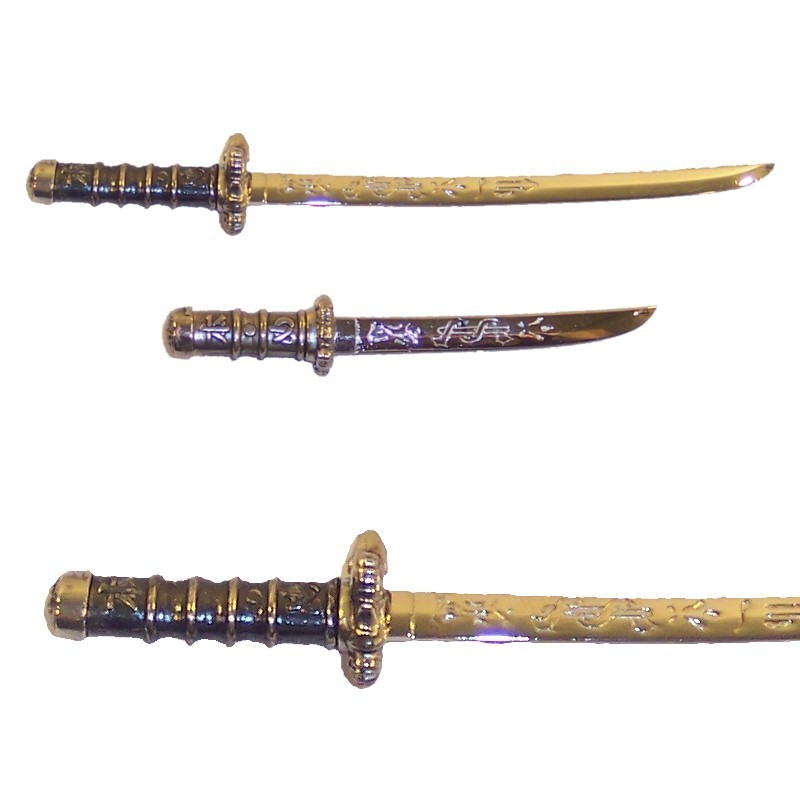 Set Of 2 Samurai Mini-weapons