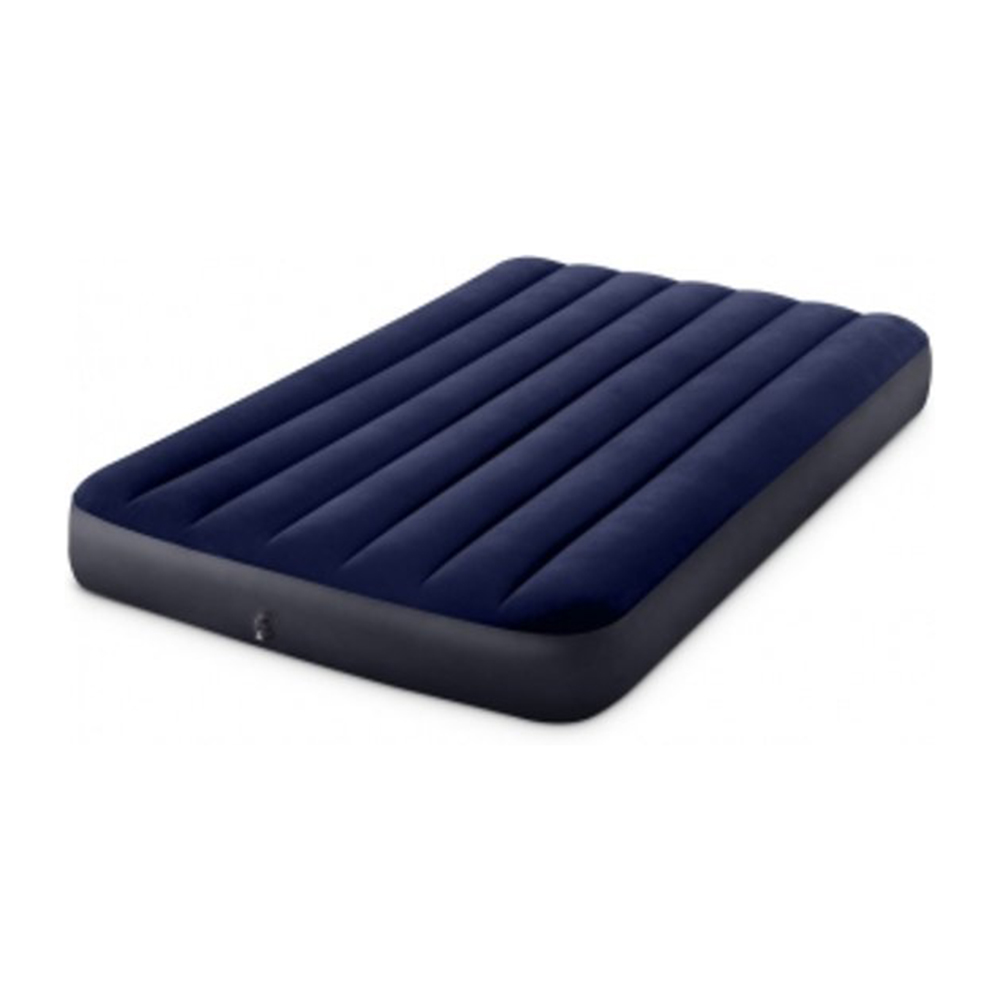 Intex Bed Inflatable Classic Downy (Fiber Tech) Ful, 1,37 M X 1,91 M X 25 Cm,