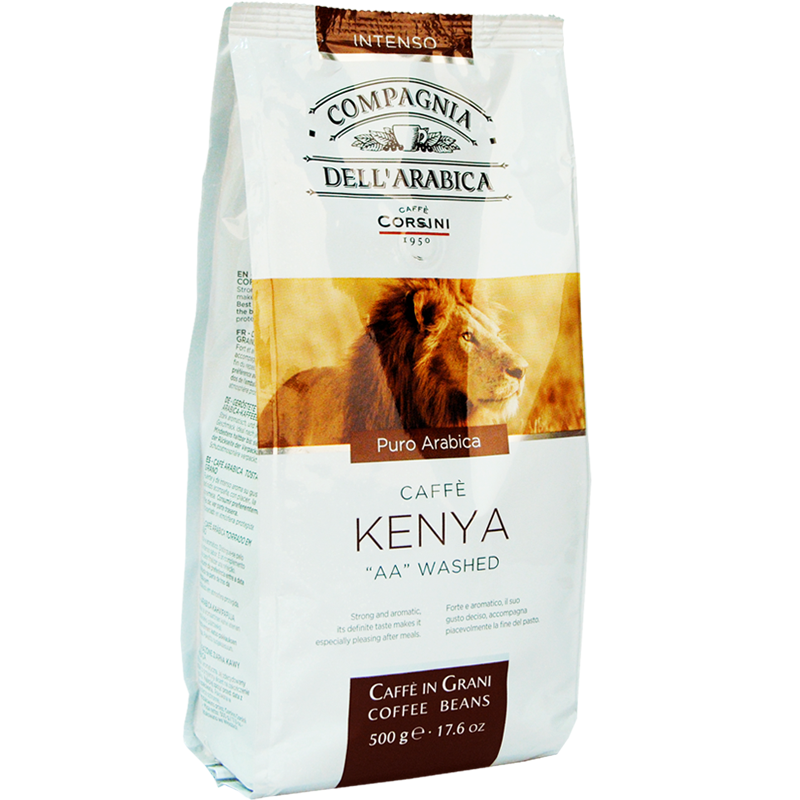"Кофе в зернах Compagnia Dell'Arabica Kenya ""AA"" Washed 500g"