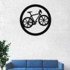 Bike Wall Art , Meta...