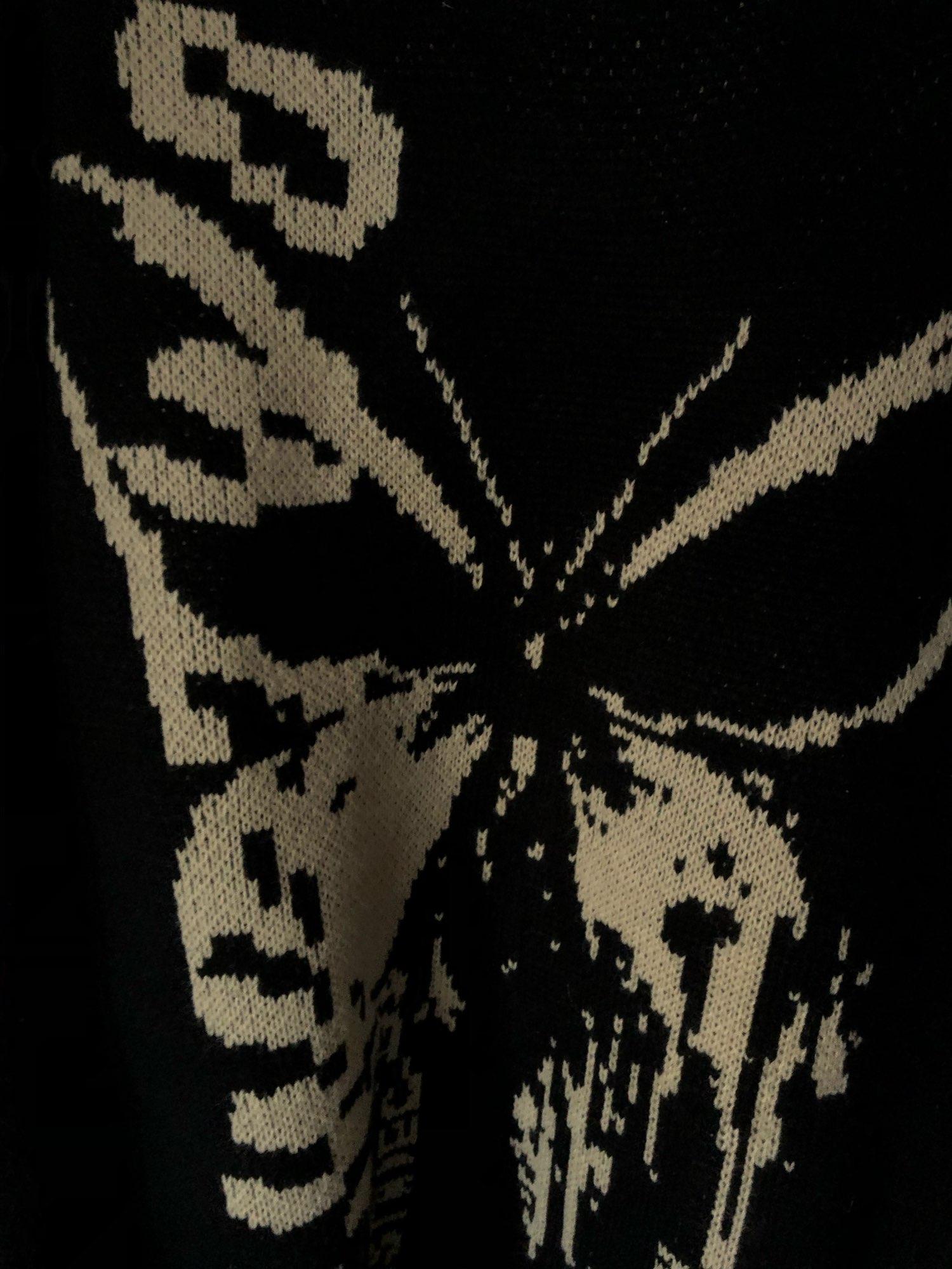 Harajuku Fashion Butterfly Knitwear Sweater photo review