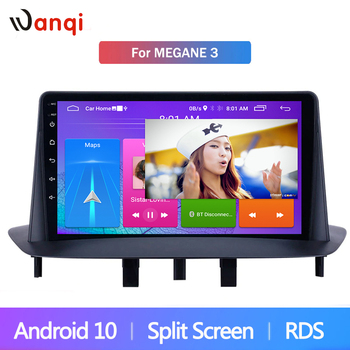 Car Multimedia Player Stereo GPS Video 9 inch Android 9.1 for Renault Megane 3 2009 2010 2011 2012 2013 2014 USB CARPLAY Audio image